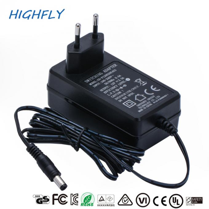 30W 12V 2.5A Power Supply Power Adapter 100% Full Load Burn In Test Private Housing