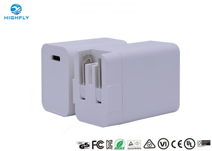 Detachable foldable Plug 18W Wall USB C PD charger for iPhone 11/11 Pro/Max/XS, Pixel