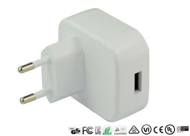 1.8A 1800mA Micro Mobile Phone USB Charger EU Plug Wall Charger Power Adapter