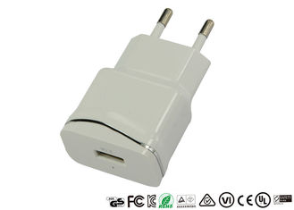 Private Mold EU Plug Single Port USB Charger Mobile Phone Wall Adapter