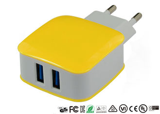 5V 2.4A 3.1A Dual Port USB Charger Portable Wall Charger With Smart IC