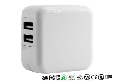 5V 2.1A USB Smart Charger Input 100-240V EU Plug Dual Ports With CE RoHS