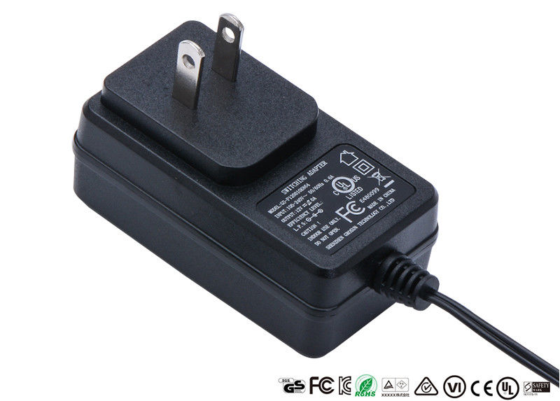 Private Mould Housing AC DC Power Adapter Wall plug  UL listed UG Plug 12V 1A 1.25A