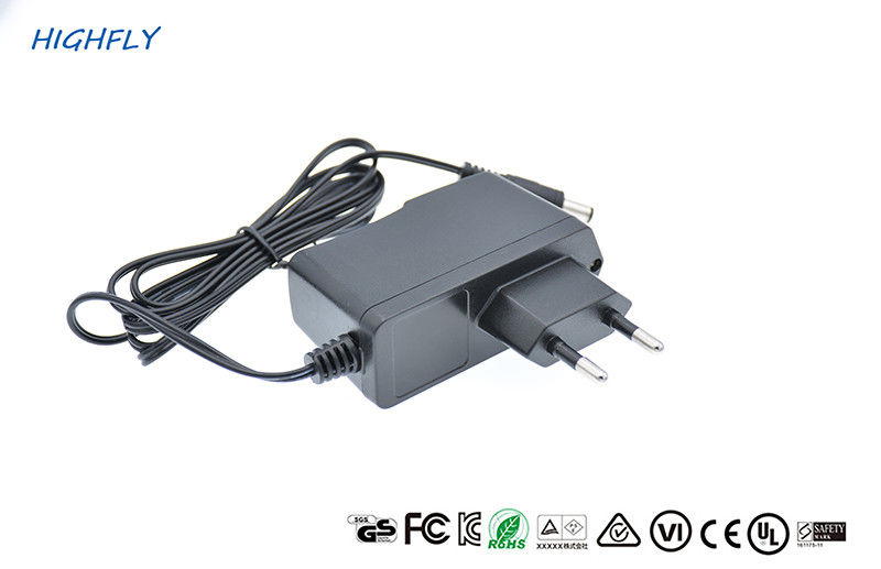 Low Ripple Screw Type Housing 12V 1A Cerficated Power Adapter Power Supply