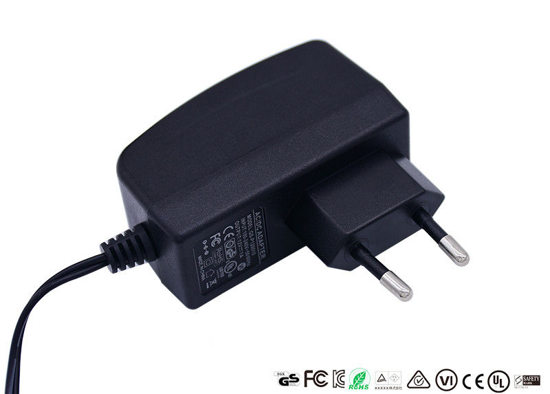 5V 2A Universal Ac Power Adapter DOE VI Energy Efficiency With 5.5 X 2.1mm Dc Jack