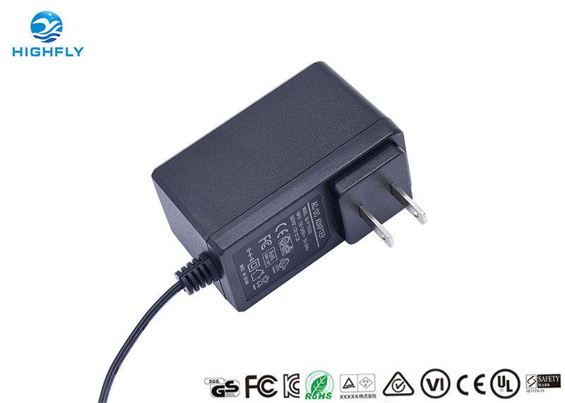 12V 2A Switching Power Adapter CE UL FCC Certified AC To DC With V0 Fireproof Case