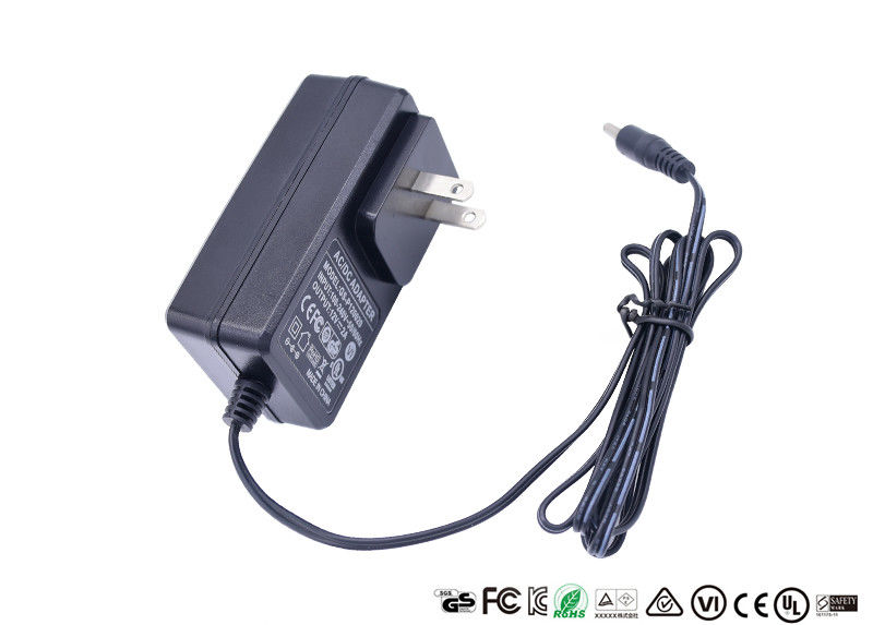 Level VI Ac Dc Power Adapter 12V 2.5A With ULCUL TUV CE FCC ROHS CB SAA