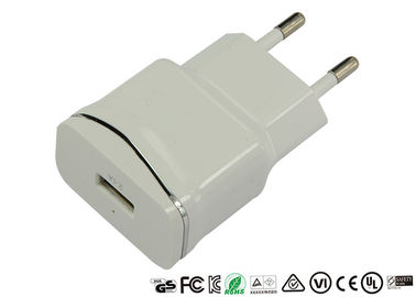 China 5V 2.1A Single Port USB Charger CE ROHS Approved For Mobile Phone Tablet distributor